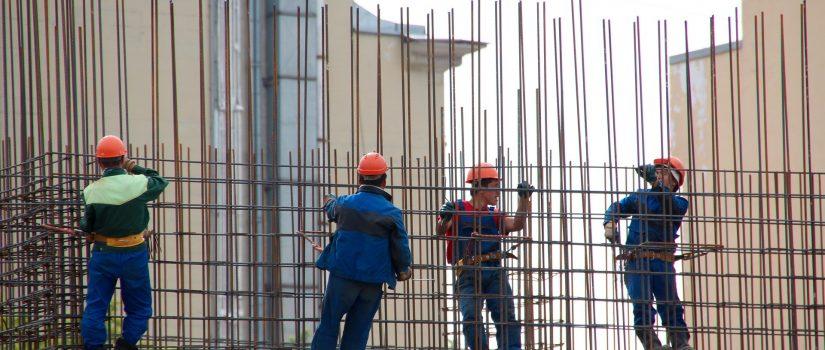 Concrete cast in place